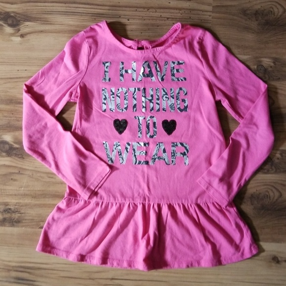 The Children/'s Place Infant Toddler Girl Long Sleeve Shirts Various Colors Sizes